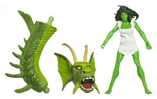 Hasbro Marvel Legends Wave Six - Savage She-Hulk