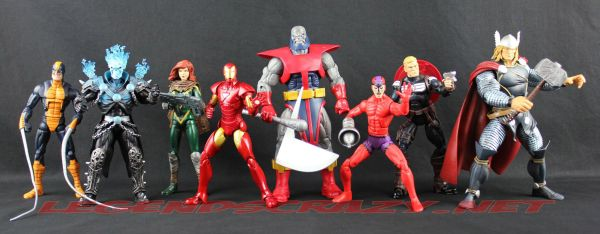 The Return of Marvel Legends Wave One Group Shot