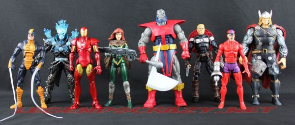 The Return of Marvel Legends Wave One Terrax Series Group