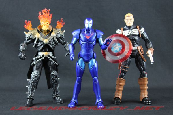 The Return of Marvel Legends Wave One Terrax Series Variants