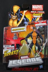 The Return of Marvel Legends Wave One Constrictor Package Front