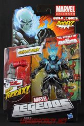 The Return of Marvel Legends Wave One Ghost Rider Package Front