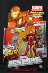 The Return of Marvel Legends Wave One Extremis Iron Man Package Front