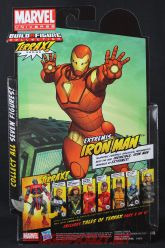 The Return of Marvel Legends Wave One Extremis Iron Man Package Rear