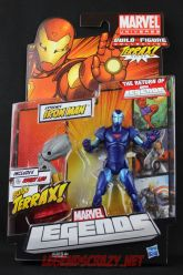 The Return of Marvel Legends Wave One Extremis Iron Man Variant Package
