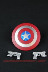 The Return of Marvel Legends Wave One Steve Rogers Accessories