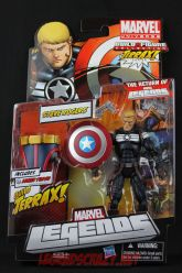 The Return of Marvel Legends Wave One Steve Rogers Package Front