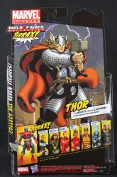 The Return of Marvel Legends Wave One Thor Package Rear