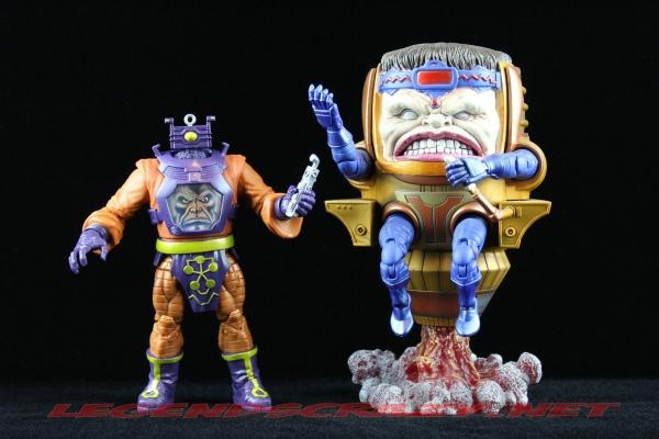 The Return of Marvel Legends Wave Two Arnim Zola Build a Figure with MODOK