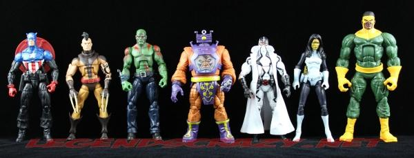The Return of Marvel Legends Wave Two Arnim Zola Series Still Group Shot