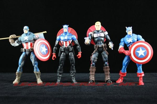 Captain America Comparision Image