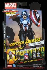 The Return of Marvel Legends Wave Two Heroic Age Captain America Package Rear