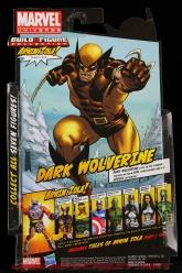 The Return of Marvel Legends Wave Two Dark Wolverine Package Rear