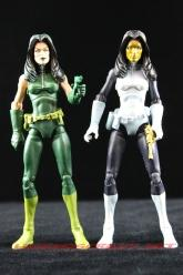 The Return of Marvel Legends Wave Two Madame Hydra Variant with Madame Masque