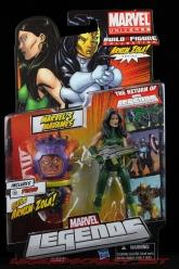 The Return of Marvel Legends Wave Two Madame Hydra Variant Package Front