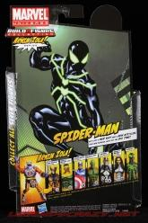 The Return of Marvel Legends Wave Two Big Time Spider-Man Package Rear