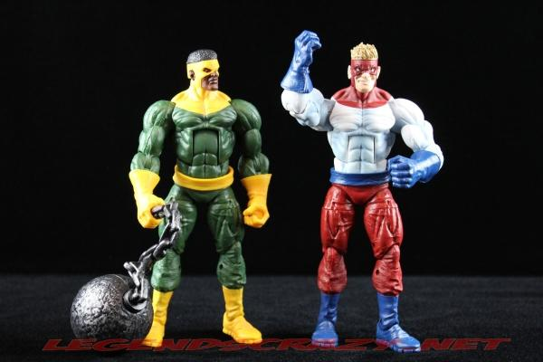The Return of Marvel Legends Wave Two Piledriver Variant with Thunderball