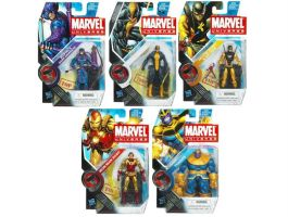 Marvel Universe Wave Eleven Group