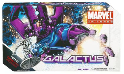 Masterworks Galactus Package Front
