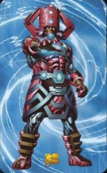 Masterworks Galactus Superhuman Registration Act Card Back