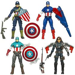 Captain America Movie Wave One Group