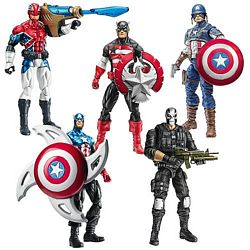 Captain America Movie Wave Two Group