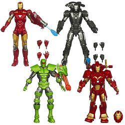 Iron Man Legends Wave One Group