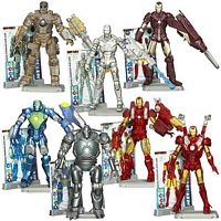Iron Man 2 Movie Wave One Group