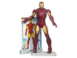 Iron Man Mark VI Armor with Power-up Glow