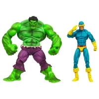 Cyclops and Hulk
