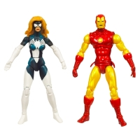 Iron Man and Spider-Woman