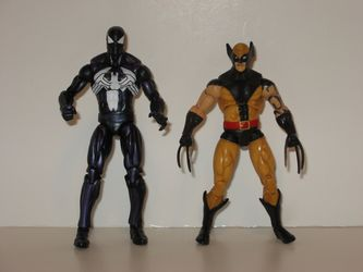 Dark Spider-Man and Dark Wolverine