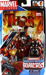 Thor and Iron Man in package