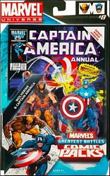 Captain America and Wolverine in package