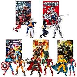 Marvel Universe Greatest Battles Comic Packs Wave Seven Group