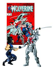 Patch Wolverine and Silver Samurai
