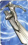 Silver Surfer - Superhuman Registration Act Card Back
