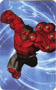 Red Hulk - Superhuman Registration Act Card Back