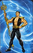 Namor the Sub-Mariner - Superhuman Registration Act Card Back