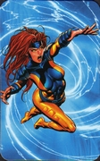 Jean Grey - Superhuman Registration Act Card Back