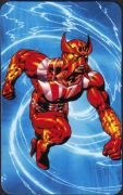 Sunfire - Superhuman Registration Act Card Back