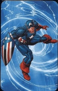 Captain America - Superhuman Registration Act Card Back