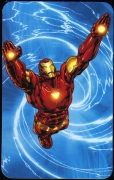 Iron Man - Superhuman Registration Act Card Back