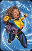 Superhuman Registration Act Card Back - Kitty Pryde