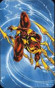 Superhuman Registration Act Card Back - Iron Spider-Man