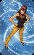 Superhuman Registration Act Card Back - Mary Jane Watson