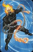 Superhuman Registration Act Card Back - Ghost Rider