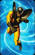 Superhuman Registration Act Card Back - Yellowjacket