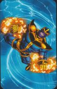 Superhuman Registration Act Card Back - Thanos