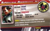Punisher - Superhuman Registration Act Card Front
